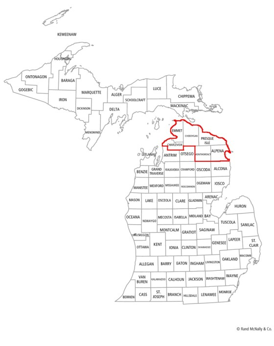 Looncorps Counties